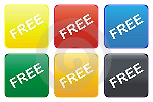 Free web button Free Stock Images