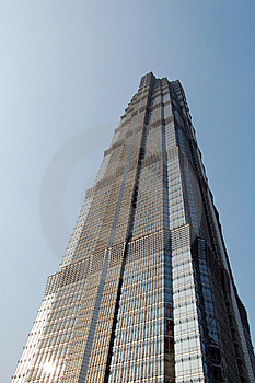 Jinmao Tower Royalty Free Stock Photo - Image: 8875515