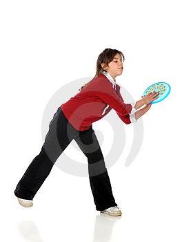 Frisbee Catch Royalty Free Stock Image - Image: 8875696