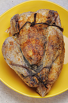 Grilled Chicken. Royalty Free Stock Photos - Image: 8878418