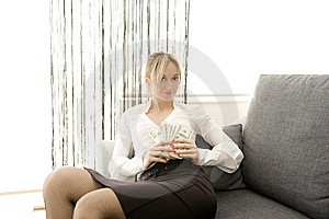 Earning With Comfort Stock Image - Image: 8879111