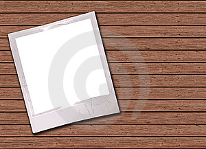 Photos On A Wood Stock Images - Image: 8880774