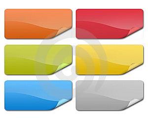 Prix E Notas Do Emblema Foto de Stock - Imagem: 8881170