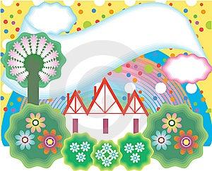 Garden Royalty Free Stock Image - Image: 8881396