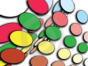 Colour Circles Stock Photography - Image: 8884842