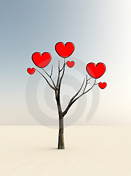 The Tree Of Love Stock Photography - Image: 8885982
