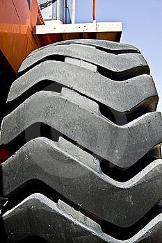 Tractor Wheel Royalty Free Stock Photo - Image: 8886385