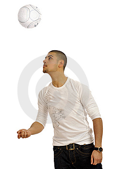 Man Playing Royalty Free Stock Photos - Image: 8886568