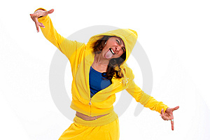 Funk Woman Stock Image - Image: 8886981