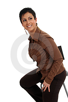 Sitting Woman Stock Images - Image: 8886984