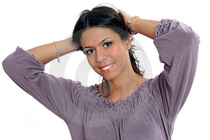 Self Confident Woman Royalty Free Stock Images - Image: 8886999