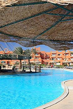 Egyptian Hotel Stock Image - Image: 8888001