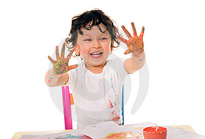 Paints Royalty Free Stock Image - Image: 8888346