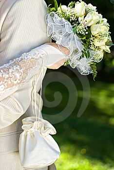 Bride And Groom Royalty Free Stock Photos - Image: 8889268