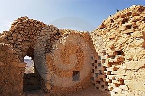 Ruined Wall Stock Image - Image: 8889281