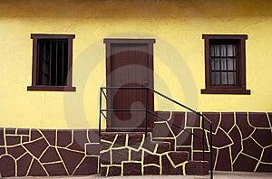 Yellow House Stock Photos - Image: 8891993