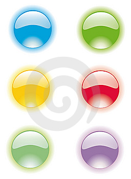 Any Glass Button Stock Photos - Image: 8892013