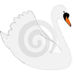 Swan Royalty Free Stock Images - Image: 8893539