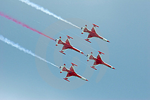 Air Stuntteam Royalty Free Stock Photo - Image: 8893965