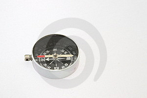 Compass On White Background Stock Photos - Image: 8894013