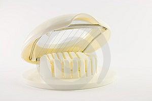 Open Egg Slicer Royalty Free Stock Image - Image: 8894906
