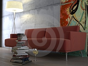 Modern Interior Stock Images - Image: 8895344