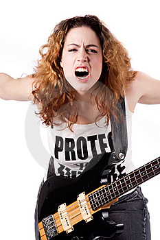 Feeling Rockin Royalty Free Stock Image - Image: 8895626