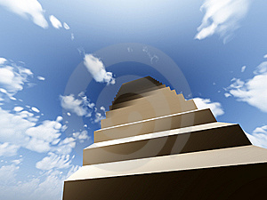 Stairway To Heaven Royalty Free Stock Photography - Image: 8896117