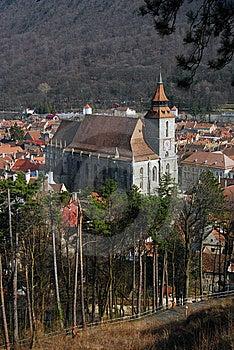 Black Church (Brasov) Romania Stock Photo - Image: 8896740