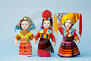 Chinese Minority Doll Stock Photography - Image: 8898482