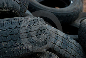 Tires Royalty Free Stock Image - Image: 8898826
