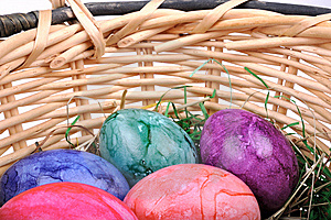 Easter Eggs Royalty Free Stock Photography - Image: 8898847