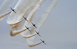 Air Show 2 Royalty Free Stock Image - Image: 8899706