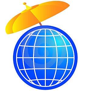 Máscara Global Imagens de Stock Royalty Free - Imagem: 893309