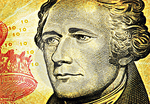 Aged Ten Dollars Bill Stock Photography - Image: 894922