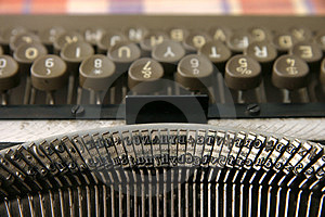 Typewriter Free Stock Photo