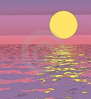 Abstrakt západ slnka ilustrácia pre pozadie a pozadia