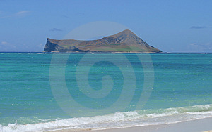 Island From The Shore Royalty Free Stock Photo - Image: 898005