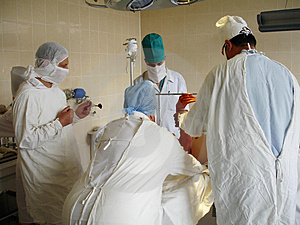 Orthopedic operation Stock Photos