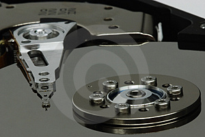 Hard-drive Reader Arm Royalty Free Stock Images - Image: 899169