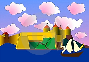 Fairy-tale Fortress Royalty Free Stock Photo - Image: 8900225
