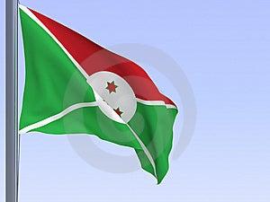 Burundi Flag Stock Images - Image: 8900654