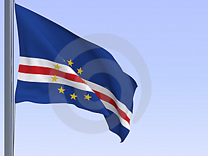 Capeverde Flag Stock Photo - Image: 8900660