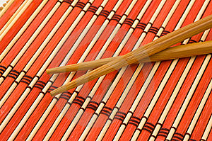 Pair Of Chinese Chopsticks. Royalty Free Stock Photo - Image: 8900865