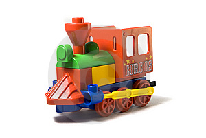 Toy Steam Locomotive Royalty Free Stock Images - Image: 8901619
