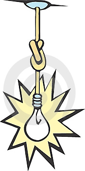 Knotted Bulb Royalty Free Stock Images - Image: 8902479