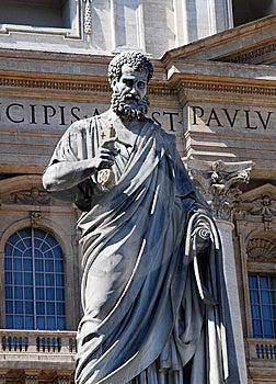 Saint Peter Statue (Vatican, Rome) Stock Photography - Image: 8902502