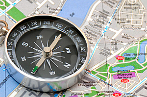 The Compass Royalty Free Stock Image - Image: 8905316