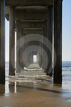 Pier Perspective Royalty Free Stock Photos - Image: 8905788