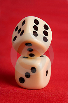 Dice Cup And Dice Royalty Free Stock Photos - Image: 8906788